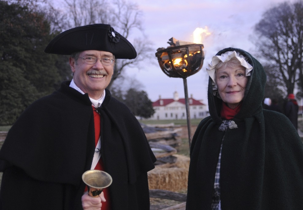 Candlelight tours at historic Mount Vernon.