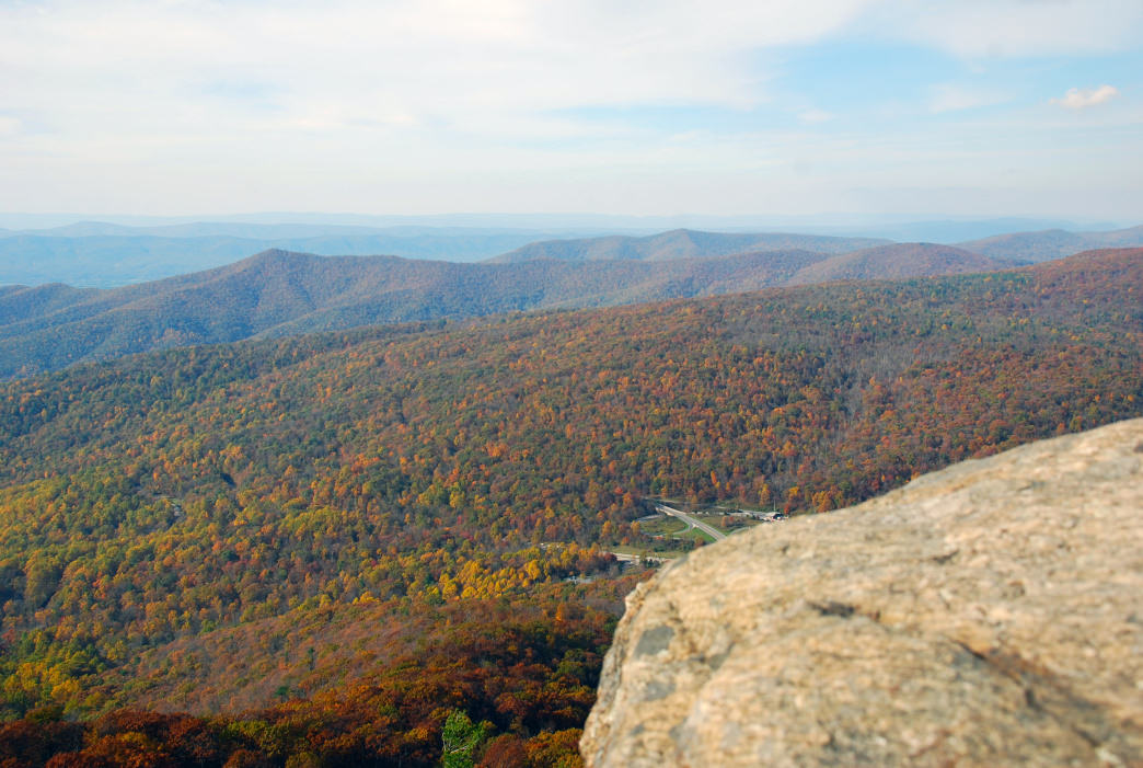 Take in the view from 3,514 feet at Mary's Rock.